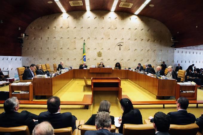 Maioria do STF vota contra réus na linha sucessória presidencial