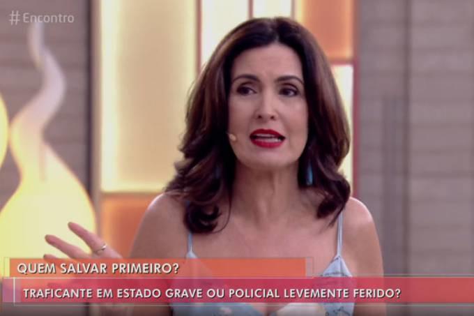 Enquete de Fátima Bernardes causa revolta entre policiais