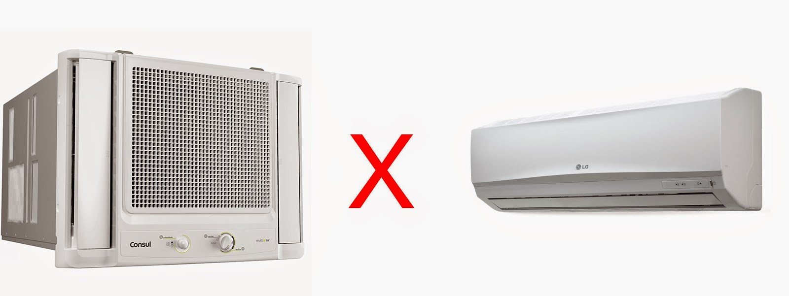 Economia: Ar condicionado do tipo de janela vs Ar condicionado do tipo Split