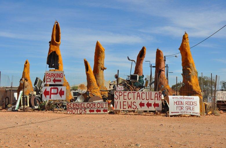A surpreendente cidade australiana onde os habitantes vivem embaixo da terra