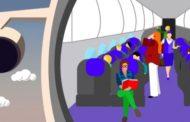 Há partes no avião em que é mais seguro se sentar (e uma posição certa do corpo)