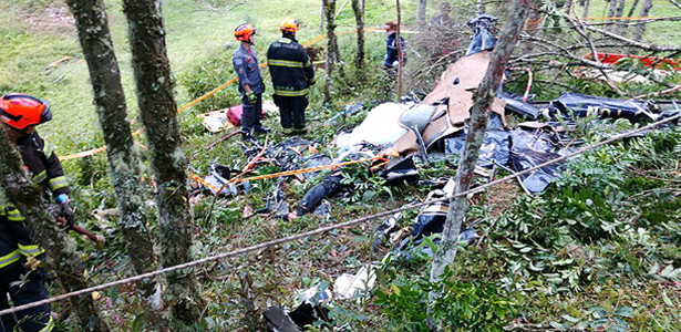 Helicóptero que caiu com noiva é o mais frequente em acidentes no Brasil