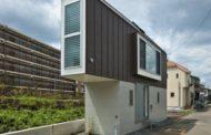 Estúdio japonês cria casa triangular de apenas 29 m²
