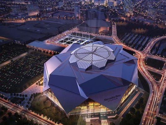 Estádio de R$ 4 bilhões está quase pronto e tem formato de origami