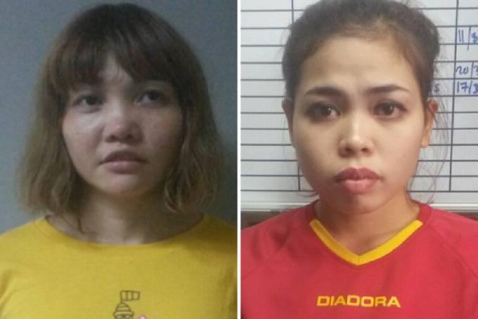 Malásia vai acusar duas mulheres pelo assassinato de Kim Jong-nam