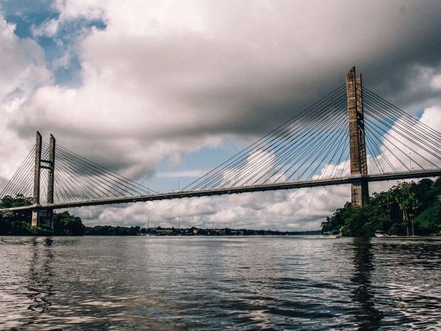 Ponte entre Brasil e União Europeia é aberta no Amapá após 6 anos pronta