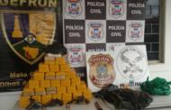 Três traficantes são mortos com 64 kg de droga em bicicletas na fronteira