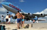 Veja no Vídeo : Aeroporto de St. Maarten é reconhecido por pouso mais impressionante do mundo