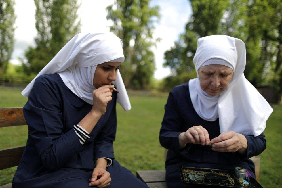 As 'freiras' da maconha