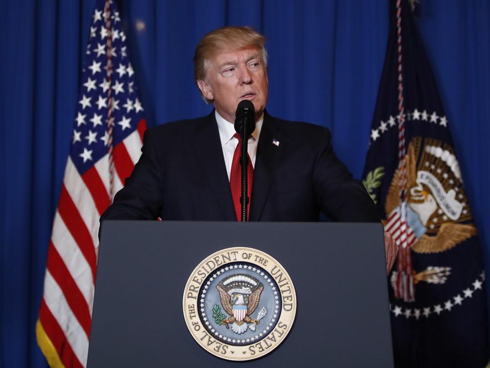'Chamo as nações para pôr fim ao banho de sangue na Síria', diz Trump após ataque