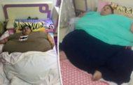 'Mulher mais pesada do mundo', egípcia perde 250 kg em dois meses após cirurgia bariátrica