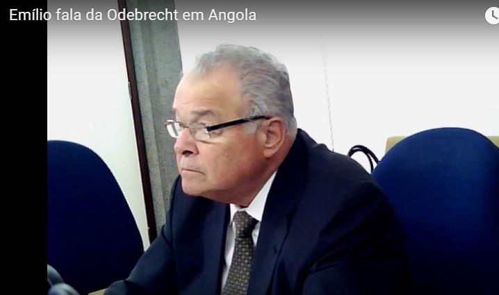 Veja o vídeo > Delação do fim do mundo : Lula apoiou Odebrecht em Angola pelos U$ 40 mi, diz Emílio