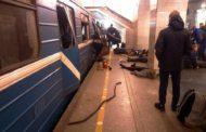 Explosão deixa mortos e dezenas de feridos no metrô de São Petersburgo, na Rússia