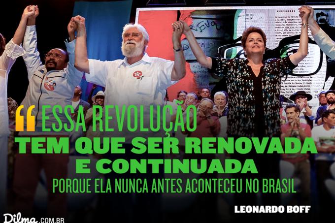Covarde e desleal, esquerdista Boff deixa Lula e rola em si mesmo