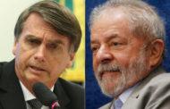 Lula lidera e Bolsonaro chega a 2º lugar, diz Datafolha