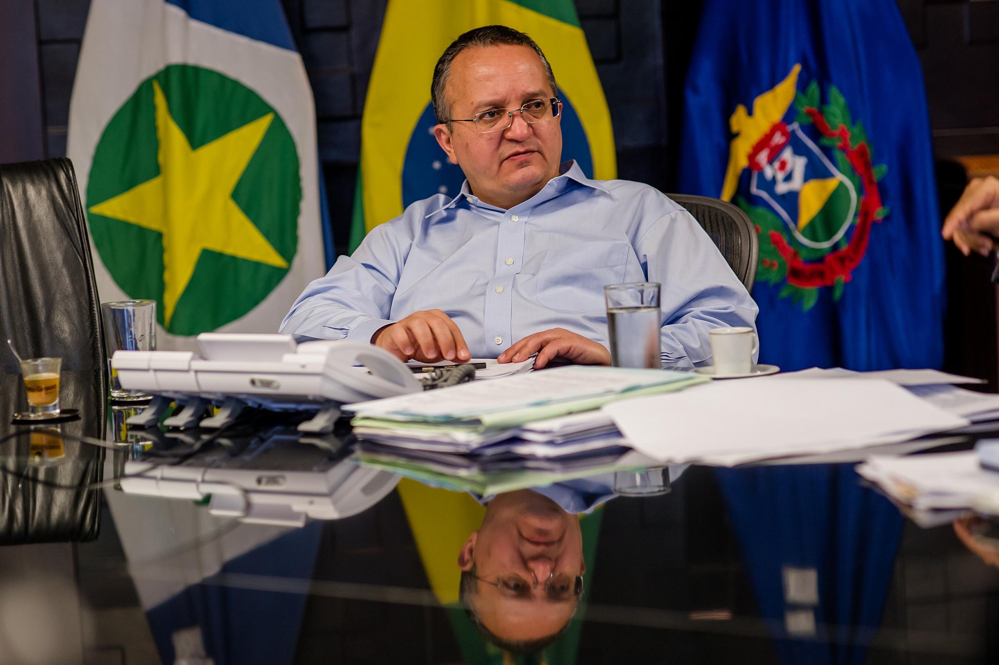 Taques antecipa coletiva do TCE e diz que ação contra o governo é