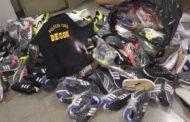 Polícia Civil apreende 272 calçados falsificados em loja da Capital