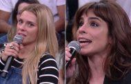 Maria Ribeiro deixa Carol Dieckmann sem graça com pergunta na TV