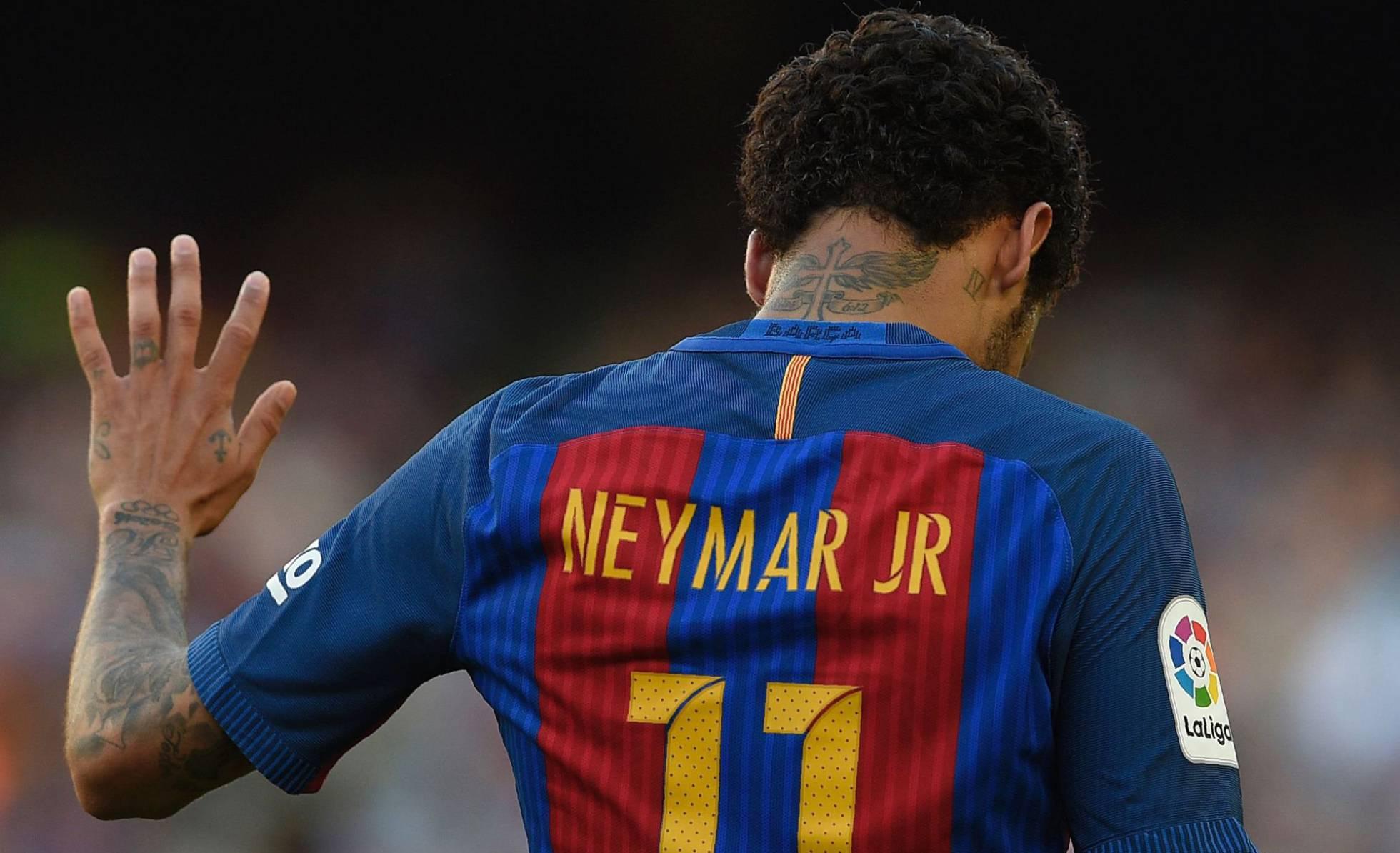 Liga Espanhola recusa pagamento dos 222 milhões de euros da cláusula de Neymar