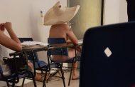 Estudante assiste à aula pelado na UFG; professor trata caso como 'brincadeira'
