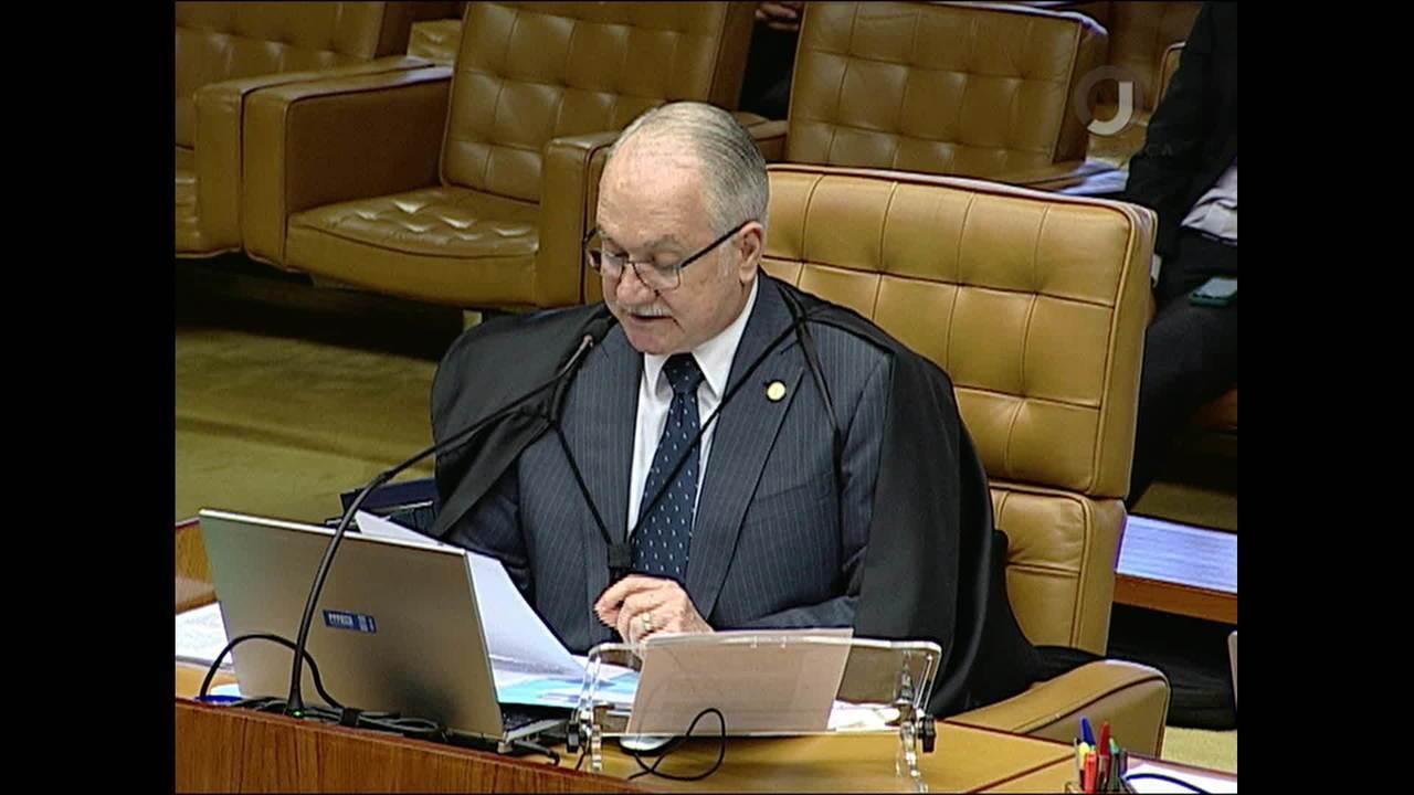 Fachin vota contra necessidade de aval do Congresso para afastamento de parlamentares