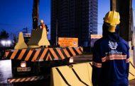 Governo começa escavações de trincheira e interdita trevo da Estrada da Chapada