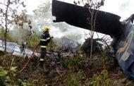 Avião decola de Lucas do Rio Verde e cai na cidade de Goiás, e passageiros sobrevivem