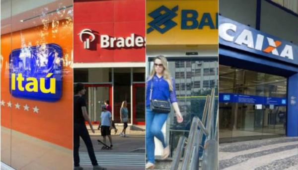 Federação dos bancos comunica que atendimento ao público vai até dia 29, último dia útil do ano - Fotomontagem