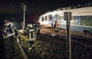 Batida de trens deixa feridos no oeste da Alemanha