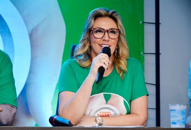 Cuiabá : Primeira-dama lança campanha voltada ao Mês da Mulher