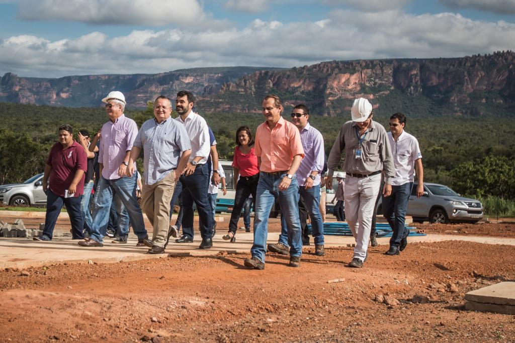 Com 95% da obra concluída, Salgadeira será entregue em abril