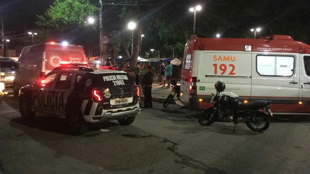 Ataques simultâneos no Bairro Benfica, em Fortaleza, deixam sete mortos e sete feridos