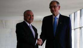 Temer recebe delegações e chefes de Estado que participarão do Fórum da Água