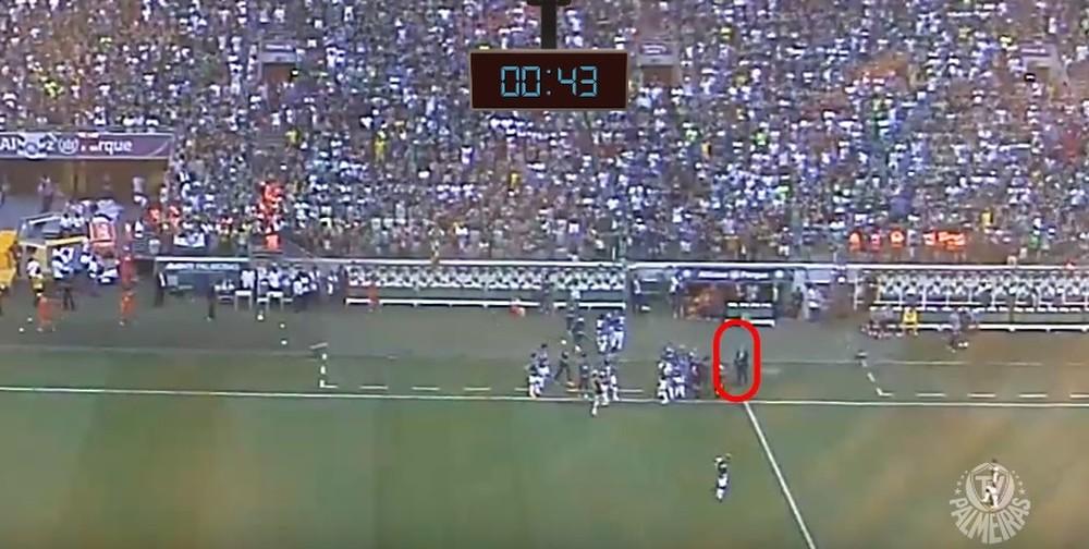 Palmeiras divulga vídeo e diz ter prova irrefutável de interferência externa na final do Paulistão