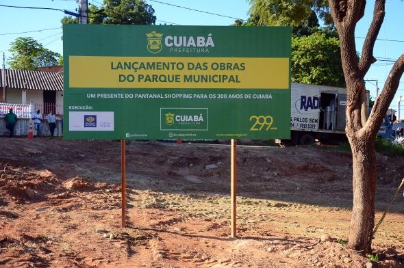 Cuiabá aos 300 anos terá mais um parque municipal na região do Canjica, Bela Vista e Terra Nova