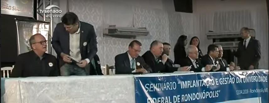 Crea-MT e Entidades de Classe falam sobre a criação da Universidade Federal de Rondonópolis