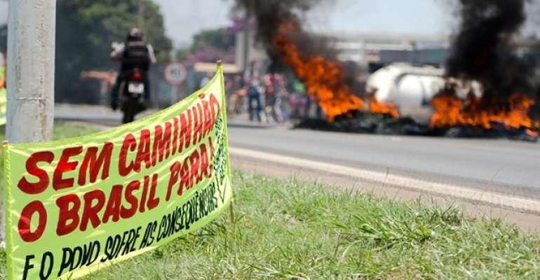 Centrais criticam uso de forças de segurança para desbloquear rodovias