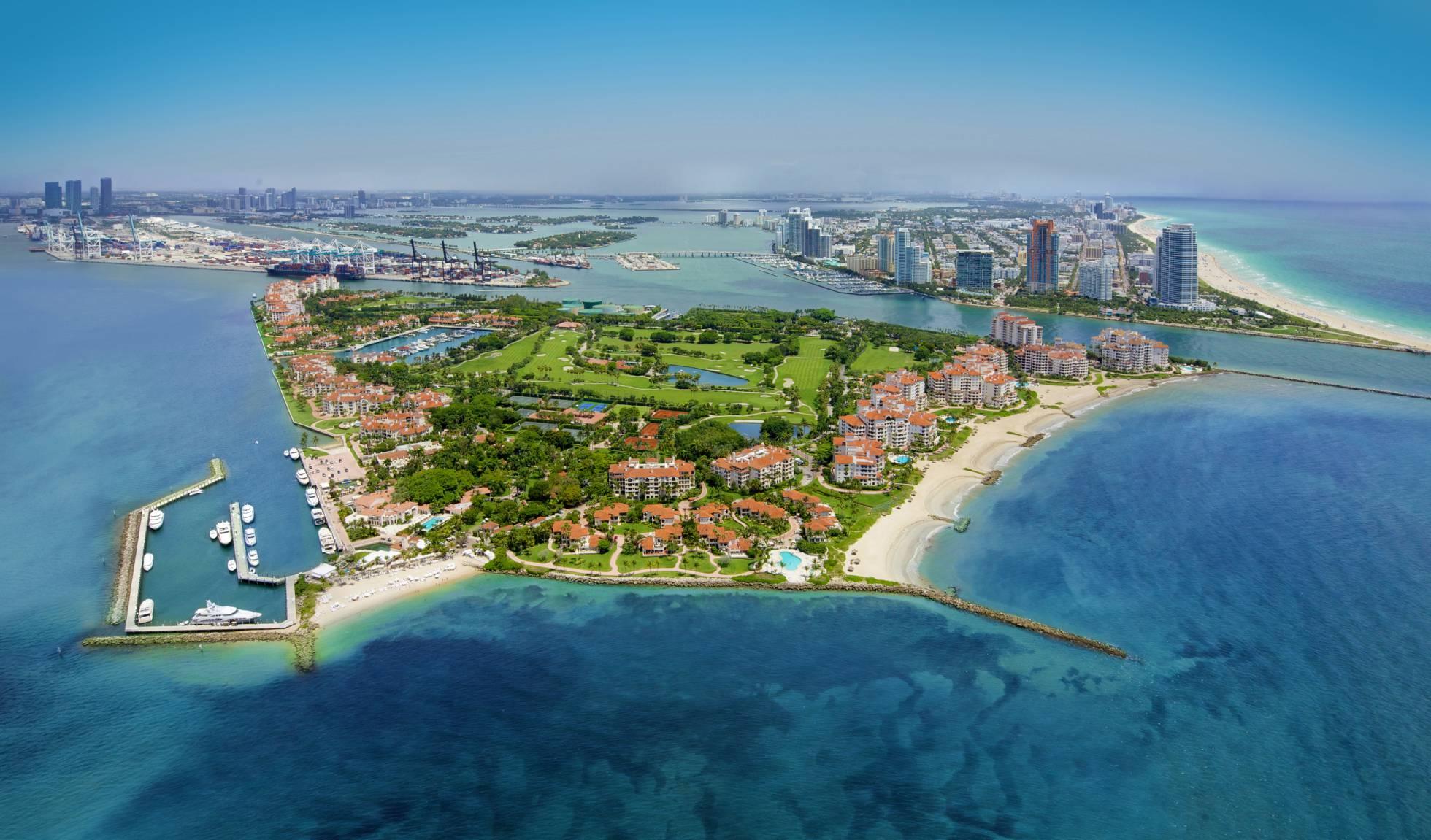 Fisher Island, o bairro mais rico dos EUA, onde 10% dos moradores são brasileiros