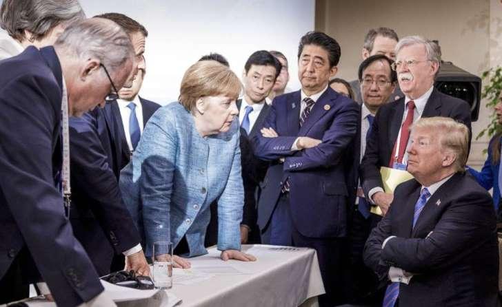 Trump ameaça abandonar comércio com aliados do G7 se não fizerem concessões e viaja ao encontro de Kim Jong Un