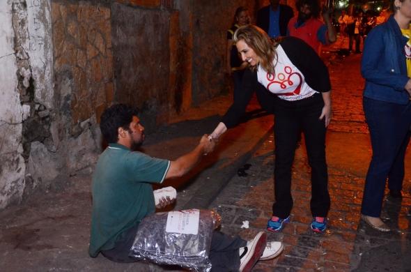 Cobertores :Previsão de nova onda de frio mobiliza primeira dama de Cuiabá