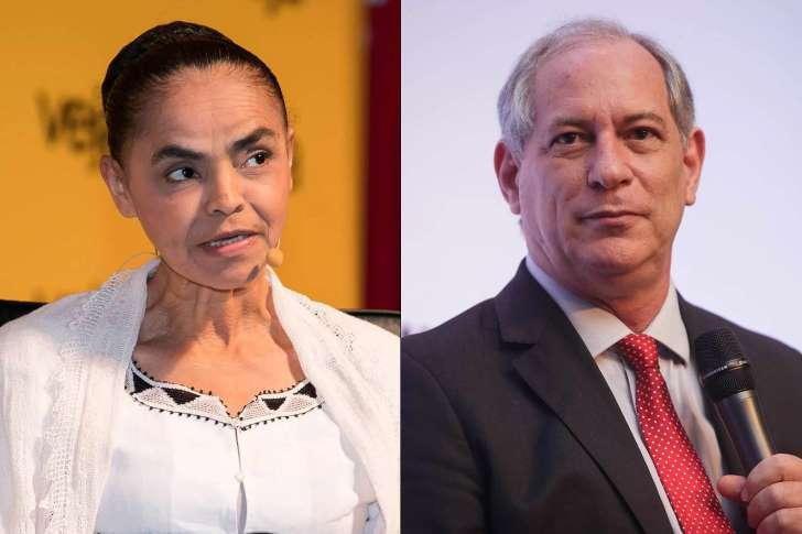 Datafolha: Sem Lula, Marina e Ciro disputam vaga para enfrentar Bolsonaro.