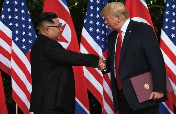 O que diz o documento assinado por Kim e Trump