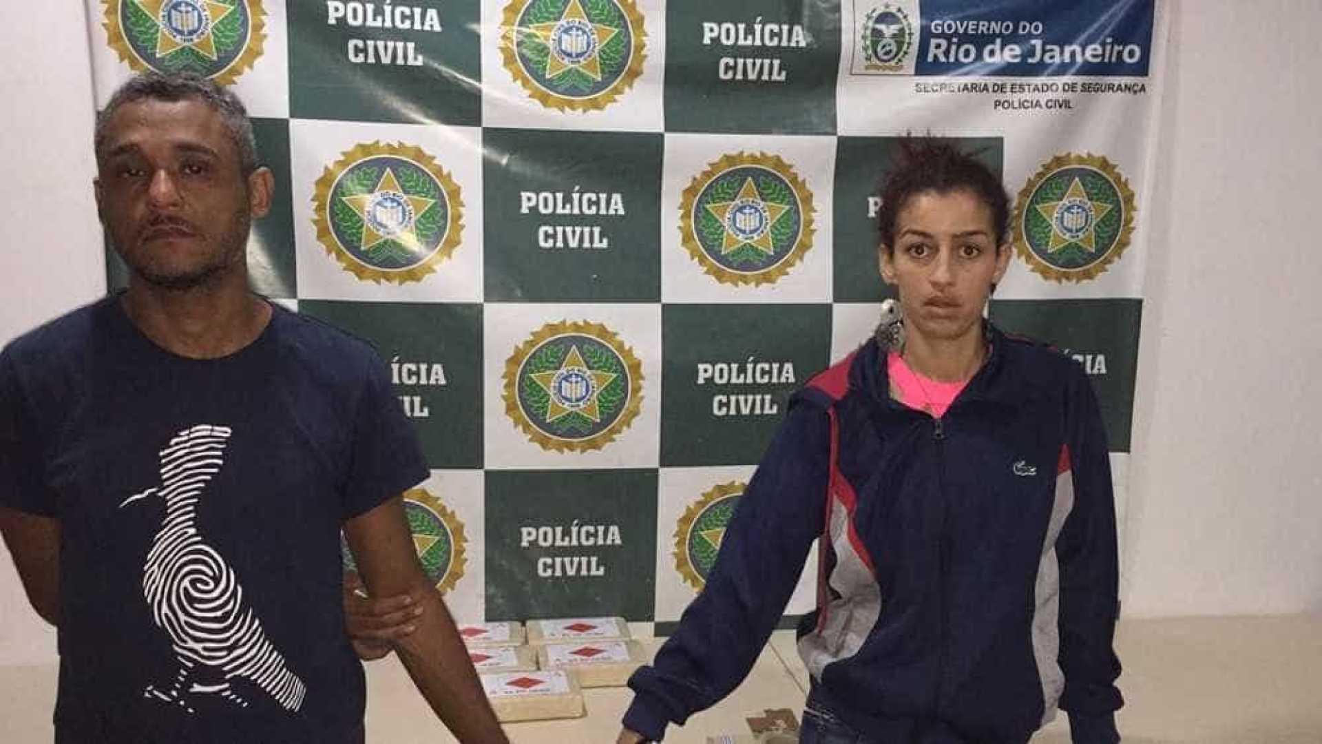 Chefe de facção criminosa é preso em rodoviária no Rio