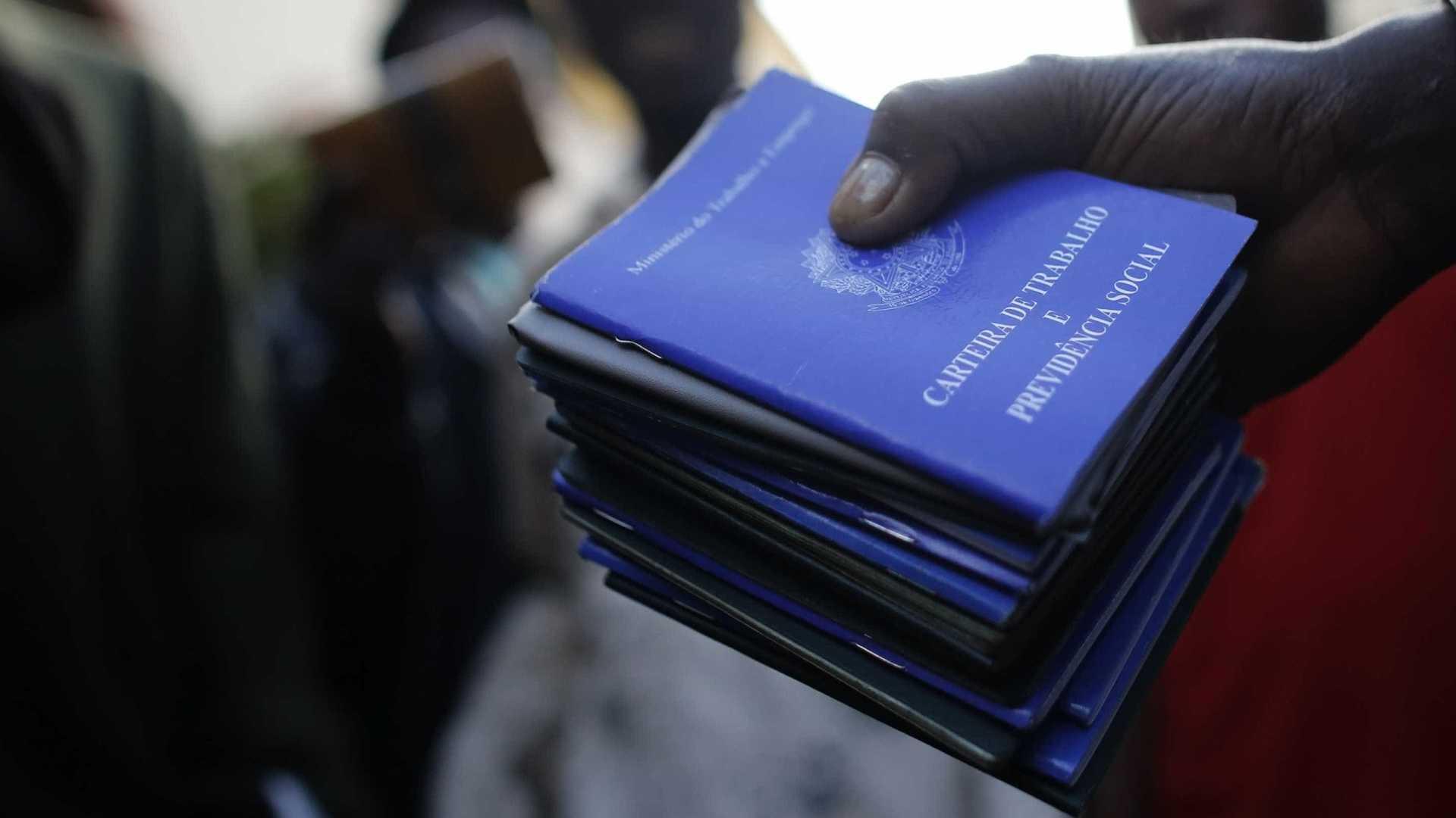 Perspectiva de criação de novas de vagas de trabalho cai 80%