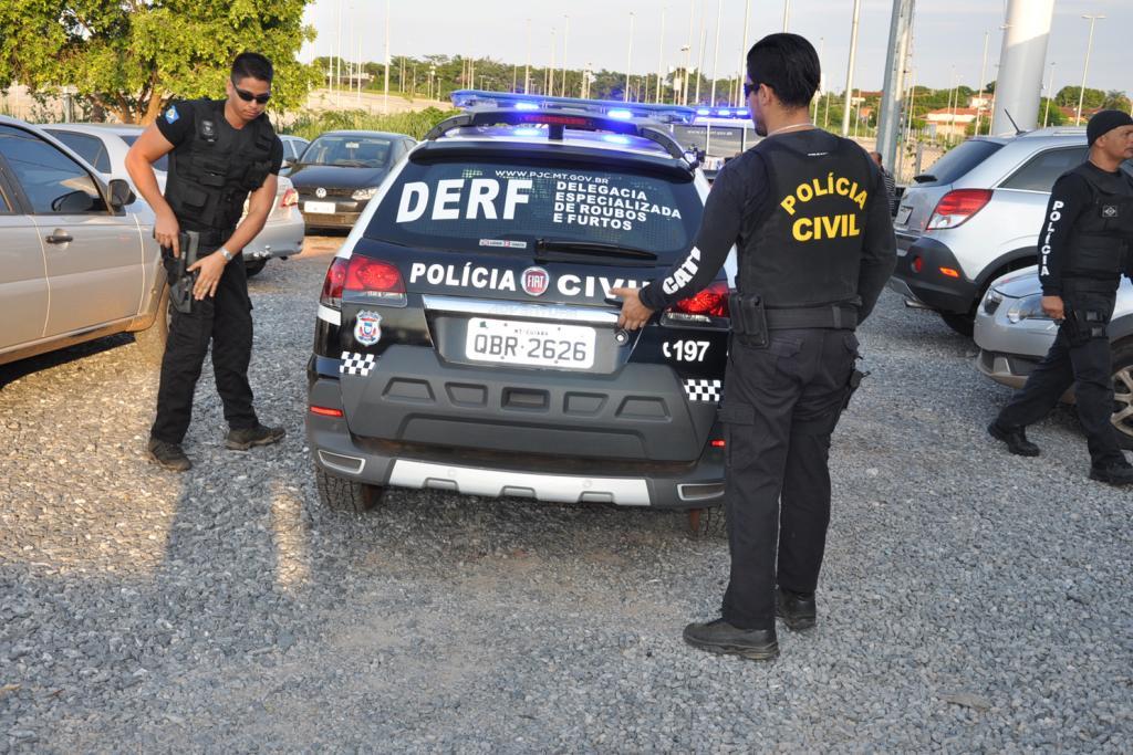 Polícia Civil de MT faz operação para descapitalizar facção criminosa