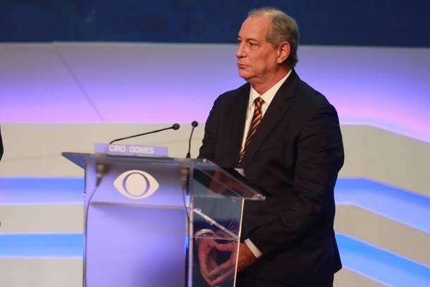 Em debate, Ciro e Alckmin discordam sobre eficácia da reforma trabalhista
