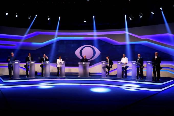 Corrupção, economia e contas públicas são temas do 1º debate presidencial