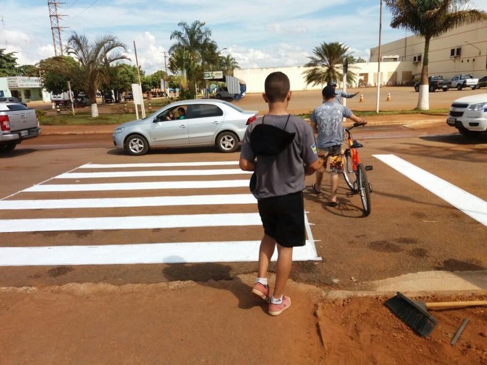 Número de mortes de pedestres em MT cai 28% e de ciclistas 43% em 10 anos, diz levantamento