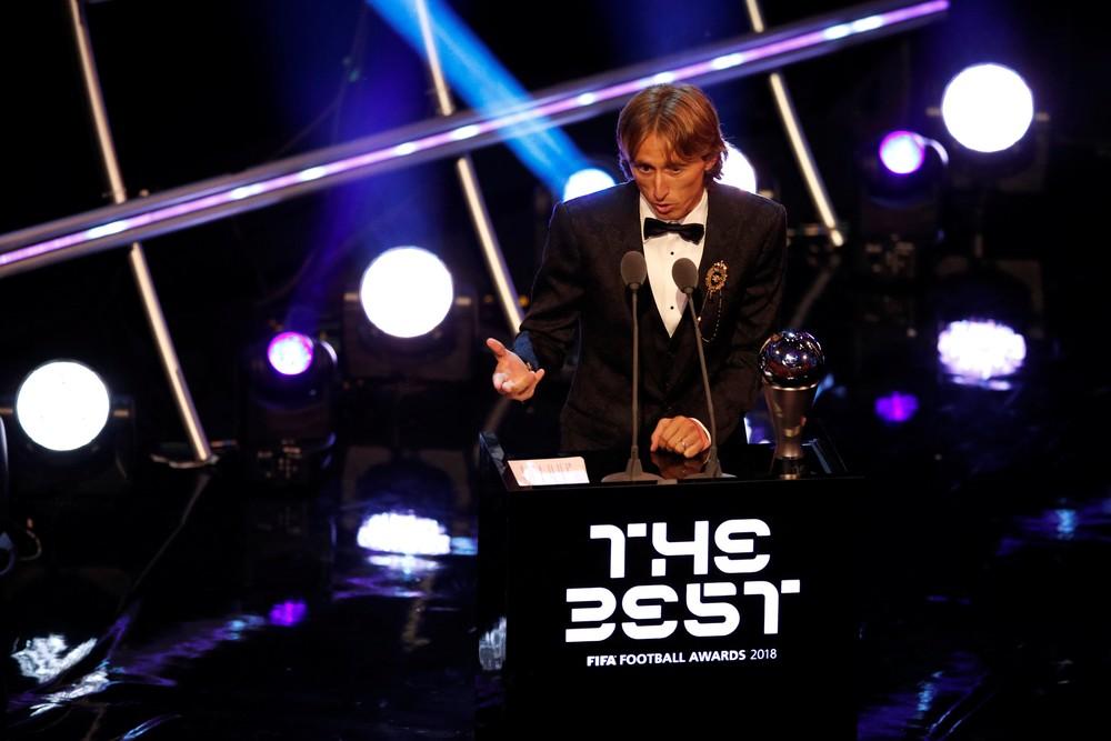 Fifa The Best: Modric bate CR7 e Salah e é eleito melhor do mundo