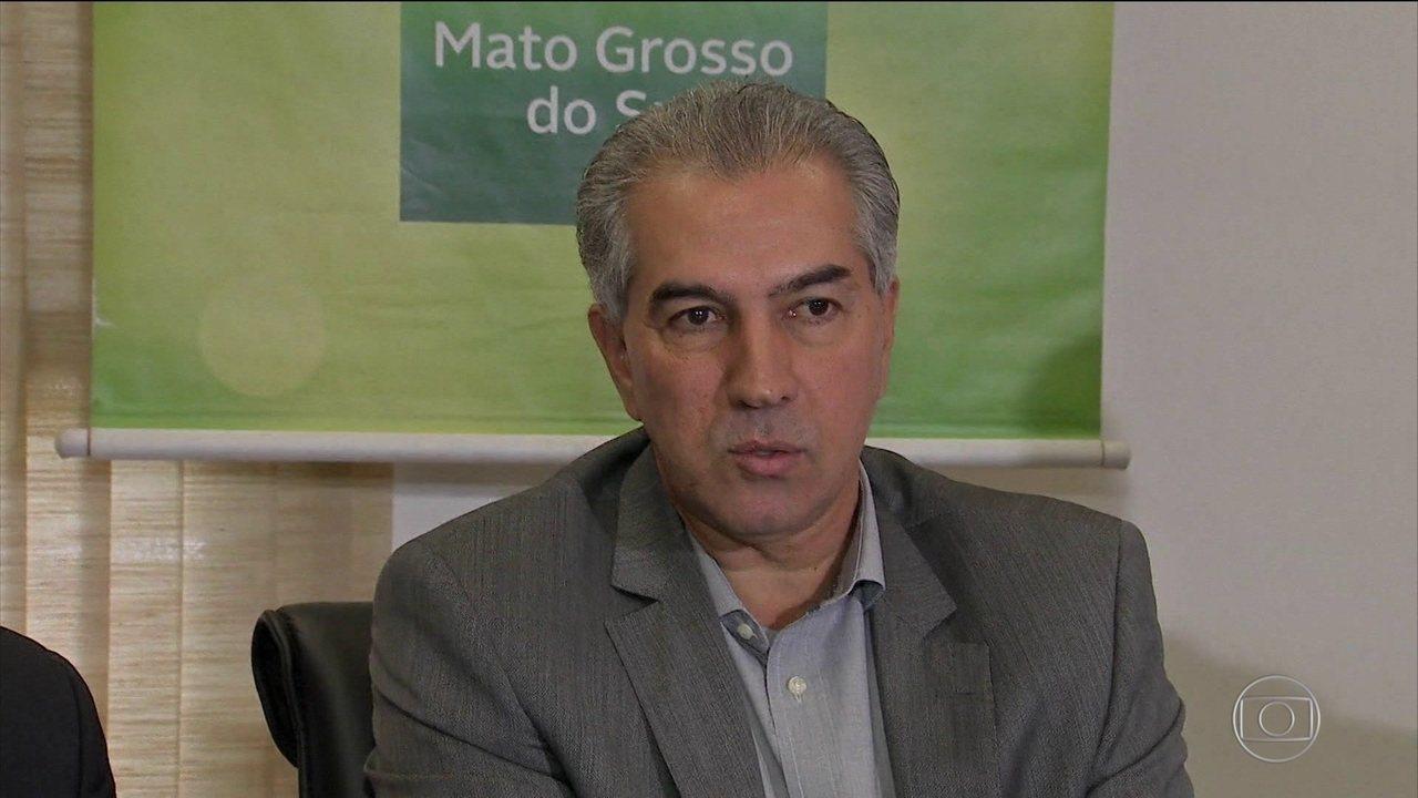 Governador de MS, Reinaldo Azambuja, é alvo de operação da PF